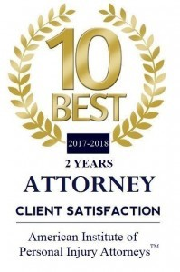 2017-2018 10 BEST Personal Injury Attorneys